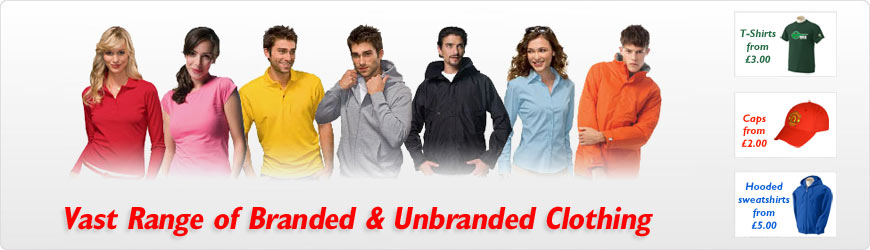 Unbranded and Branded Clothing